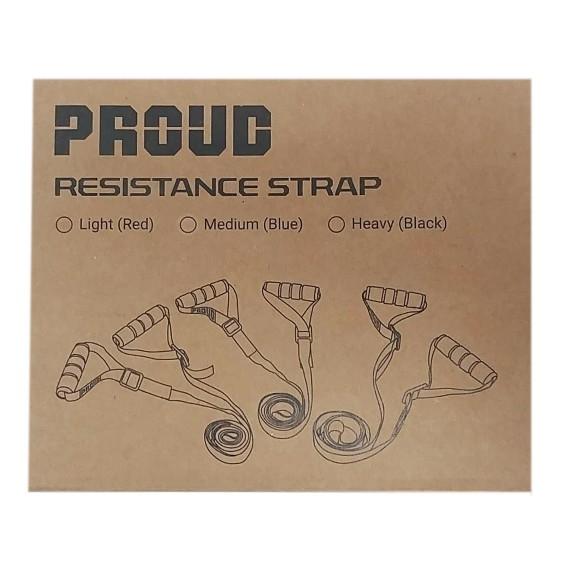 EKSPANDER TRENINGOWY REGULOWANY PROUD RESISTANCE STRAP