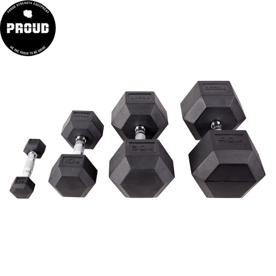 HANTLA PROUD HEX DUMBBELLS 40 KG - OUTLET