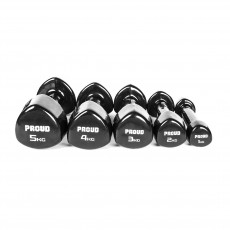 HANTLE VINYLOWE PROUD VINYL DUMBBELLS BLACK