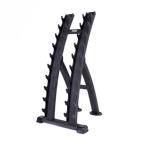 PIONOWY STOJAK NA HANTLE PROUD VERTICAL DUMBBELL RACK 2.0 NA 10 PAR
