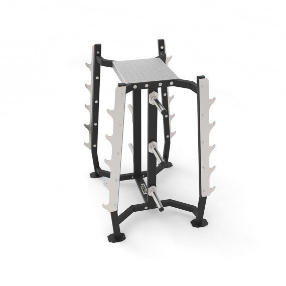 OLYMPIC BAR AND PLATES RACK PROUD CHAMPION