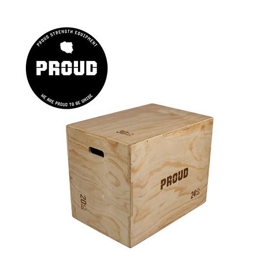SKRZYNIA PROUD WOOD PLYO BOX