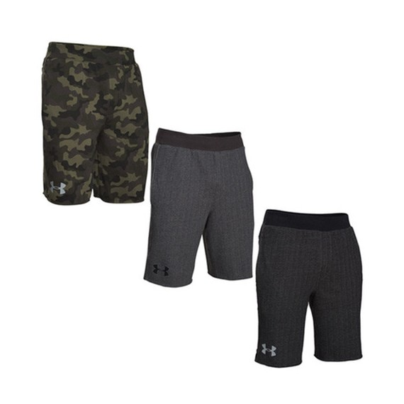 SPODENKI MĘSKIE UNDER ARMOUR RIVAL COTTON NOVELTY SHORT