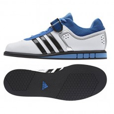 ADIDAS POWERLIFT 2 (white/black/royal)
