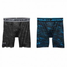 HEATGEAR ARMOUR COMPRESSION PRINTED SHORT