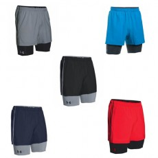 UA MIRAGE 2-IN-1 TRAINER SHORT