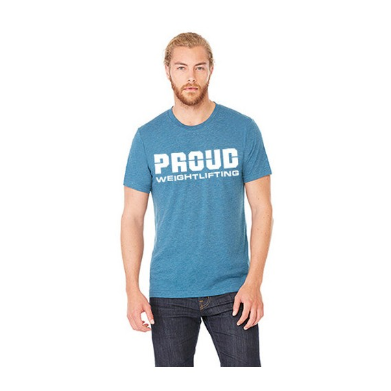 T-SHIRT PROUD WEIGHTLIFTING MEN`S ROZM. XL