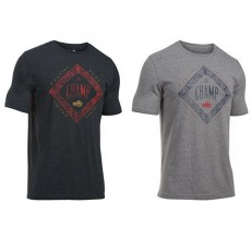 CLAY THE CHAMP TRIBLEND TEE GREY