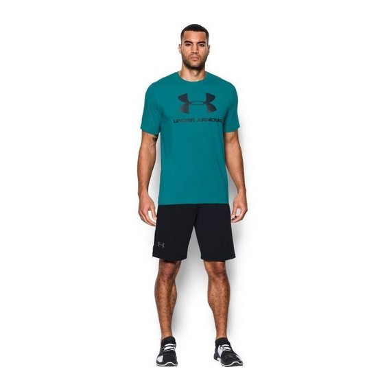 KOSZULKA MĘSKA UNDER ARMOUR CHARGED COTTON SPORTSTYLE LOGO T
