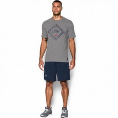 KOSZULKA MĘSKA UNDER ARMOUR CLAY THE CHAMP TRIBLEND TEE GREY