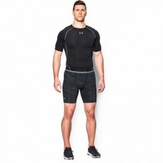 SZORTY MĘSKIE UNDER ARMOUR HEATGEAR ARMOUR COMPRESSION PRINTED SHORT
