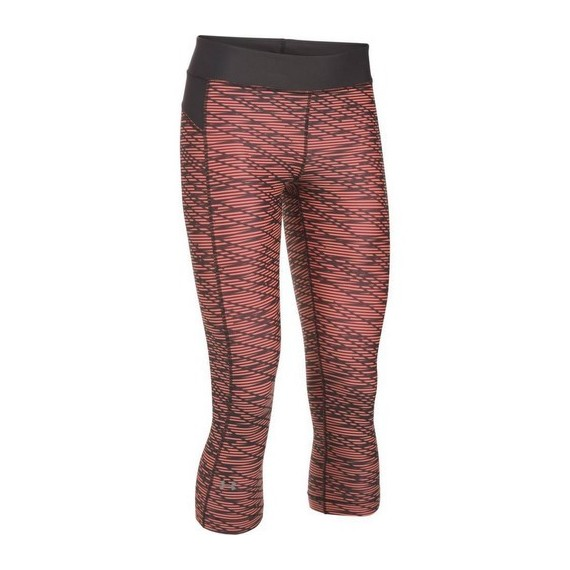 LEGGINSY DAMSKIE UNDER ARMOUR HG ARMOUR PRINTED CAPRI