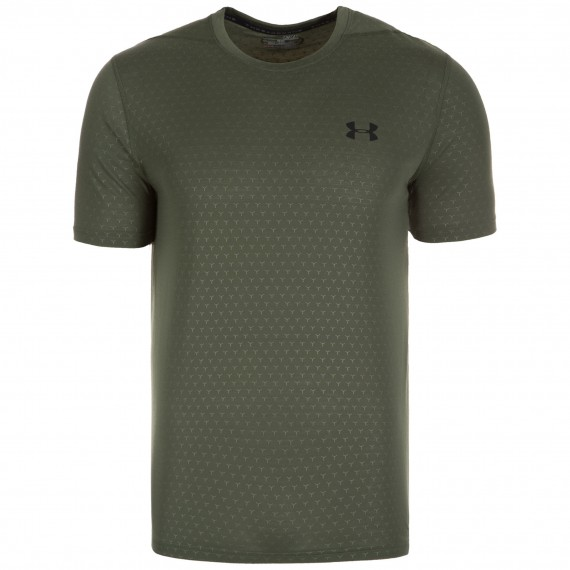 KOSZULKA TRENINGOWA MĘSKA UNDER ARMOUR THREADBORNE FTD EMBOSS SS