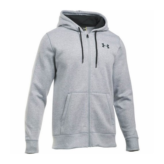 BLUZA MĘSKA UNDER ARMOUR STORM RIVAL COTTON FULL ZIP