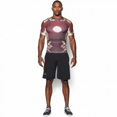 KOSZULKA MĘSKA UNDER ARMOUR MEN'S UA ALTER EGO IRON MAN COMPRESSION SHIRT