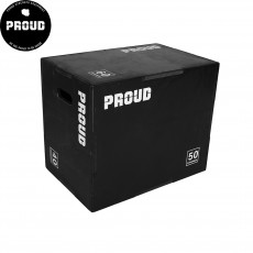 PROUD WOODEN PLYO BOX BLACK MEDIUM